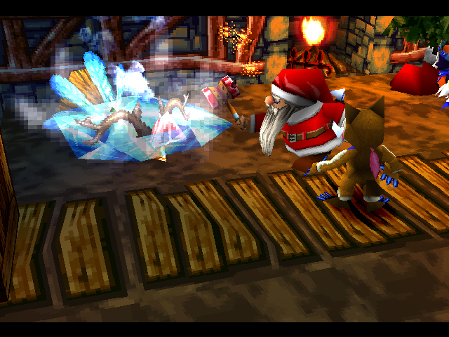 Santa using the Fire Hammer.png
