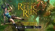 NA Lara Croft Relic Run Launch Trailer