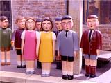 Drugoplanowe Postacie Ludzkie w serii telewizyjnej