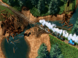 Bujający się Most