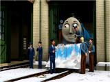 Piotruś w Śniegu