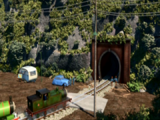 Tunel na Wyspę Mgieł