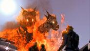 Inukaen's revenge kaen form