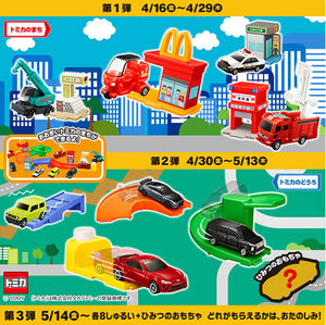 McDonalds Happy Set Tomica 2021 | Tomica Wiki | Fandom