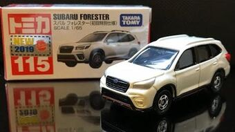 Tomica No First edition version 115 Subaru Forester