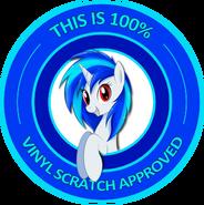 100% Vinyl Scratch approved!