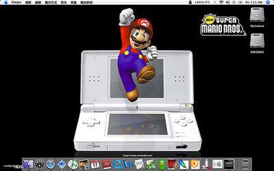Mario on the Nintendo DS Lite..jpg