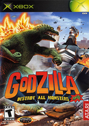 Godzilla - Destroy All Monsters Melee Coverart