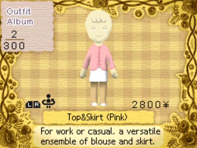 Clothing/Feminine