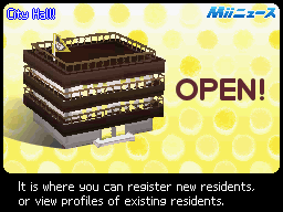 Mii News/List of Breaking Newscasts in Tomodachi Collection