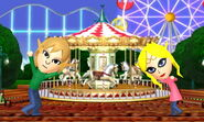 Amusement Park Pair Photo