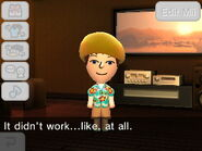 Mii after failed attempt to stop huge fight
