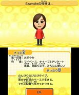 Tomodachi Collection personality