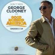George Clooney Good Morning Promo