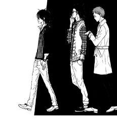 Yuuzan, Misawa and Andou