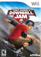 Tony Hawk Downhill Jam Wii Cover