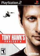 Tony Hawk's Project 8 PlayStation 2 Cover
