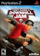 Tony Hawk Downhill Jam PlayStation 2 Cover