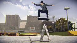 THPS5 Berrics SkatePark Jaws Kickflip