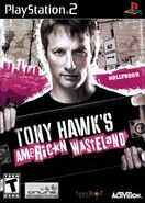 Tony Hawk's American Wastleland PlayStation 2 Cover