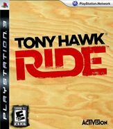 Tony Hawk Ride PS3 Cover