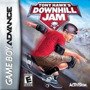 Tony Hawk Downhill Jam Game Boy Advance Cover