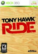 Tony Hawk Ride Xbox 360 Cover