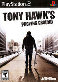 Tony Hawk's Proving Ground PlayStation 2 Cover