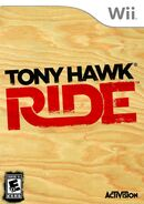 Tony Hawk Ride Wii Cover
