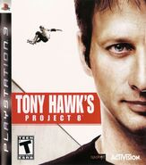 Tony Hawk's Project 8 PlayStation 3 Cover