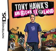 Tony Hawk's American Sk8land Nintendo DS Cover