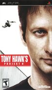 Tony Hawk's Project 8 PSP Cover