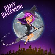 Angela Napoli Halloween