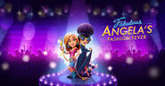 Fabulous Angela's Fashion Fever Poster