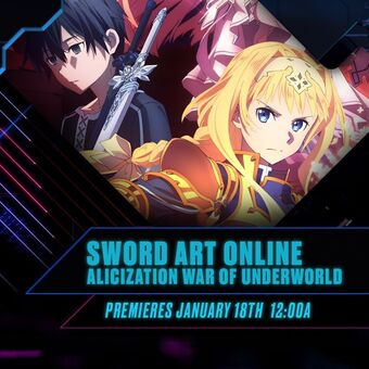 Sword Art Online Alicization Toonami Wiki Fandom