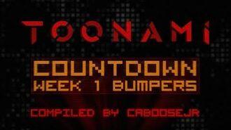 Countdown Week 1 - Toonami Bumpers