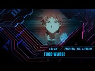 Toonami - Food Wars Season 3 Promo (HD 1080p)