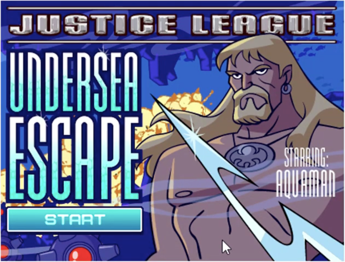 Justice League: Undersea Escape