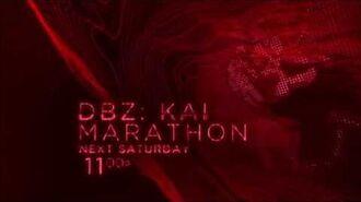 DBZ Kai Thanksgiving Marathon - Toonami Promo