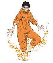 Shinra Kusakabe (Fire Force)