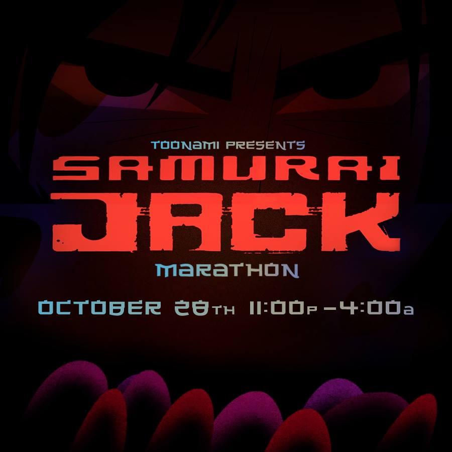 Samurai Jack Marathon (October 2017)