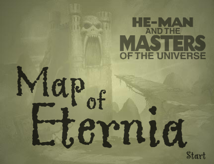 He-Man: Map of Eternia