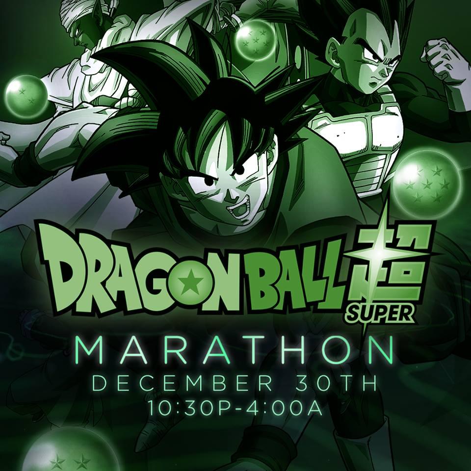 Dragon Ball Super Marathon (December 2017)
