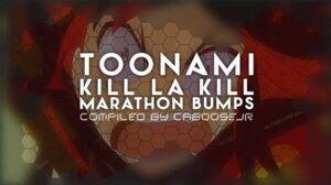 Kill la Kill Marathon Toonami Bumpers