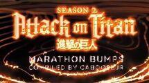 Attack on Titan Season 2 Marathon - Toonami Bumpers