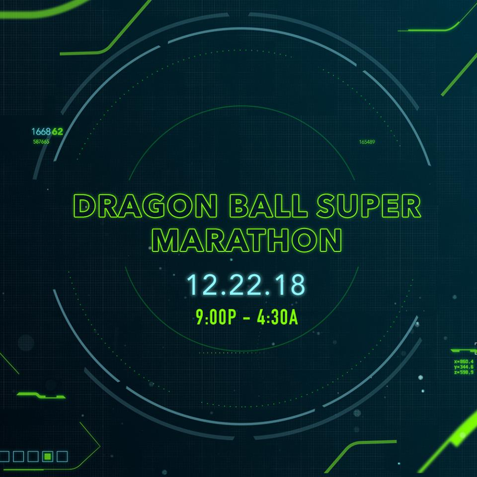 Dragon Ball Super Marathon (December 2018)