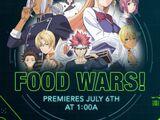 Food Wars!/Episodes