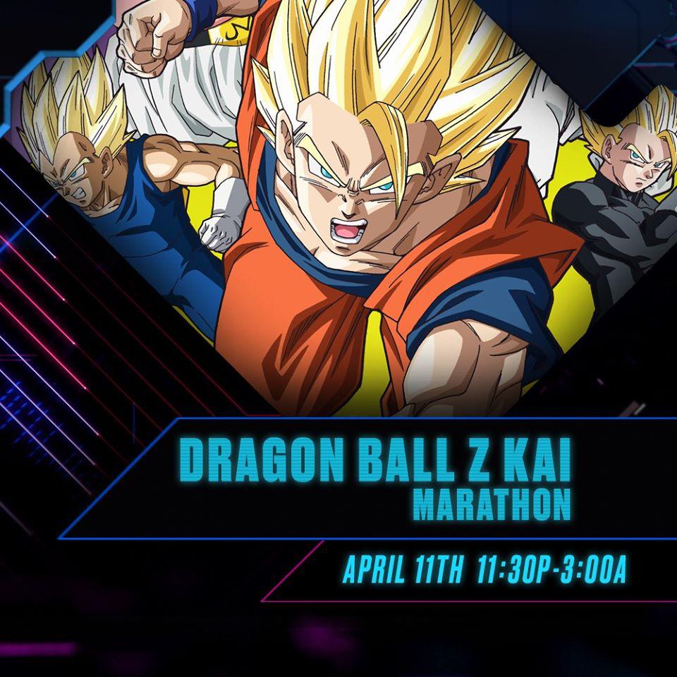 DBZ Kai: Cell Saga Marathon