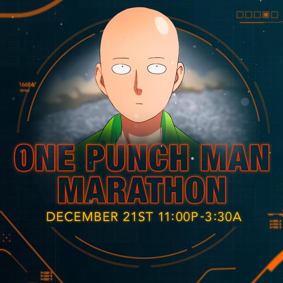 One Punch Man Season 2 Marathon