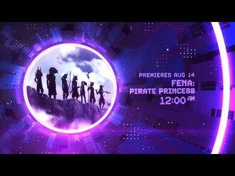 Fena Pirate Princess - First Toonami Promo